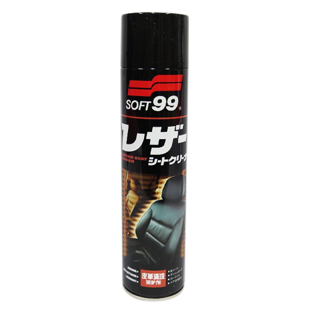 糊塗鞋匠 優質鞋材 K89 日本SOFT99皮革清洗保護劑 600ml