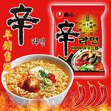 【滿件折扣】韓國原裝進口 農心辛拉麵 正宗韓國內銷品 去韓國必買的泡麵*5包入 特價$130