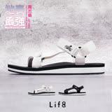 【Life8】iStarKu X MRJ聯名款 尼龍織帶 配色涼拖鞋-09749-白色