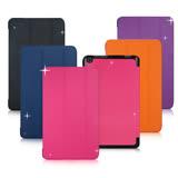 VXTRA ASUS ZenPad 10 Z301MF / Z301M / Z301ML 經典皮紋超薄三折保護套 平板皮套