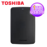 Toshiba 東芝 Canvio Basic 1TB 2.5吋行動硬碟 黑