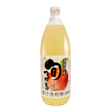 SUNPACK 季節限定 純津輕蘋果汁 1000ml