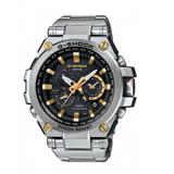 G-SHOCK 太陽能無限伸展電波指針式霸氣腕錶-金色元素-MTG-S1000D-1A9