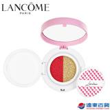 Lancôme 蘭蔻 春季限量彩妝-慕斯亮顏雙效氣墊(莓果&蜜桃)粉盒+粉蕊