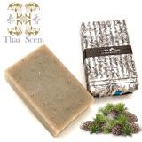 ThaiScent泰香 禾竹雪松山羊奶手工皂100g(2入組)