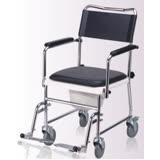 【康復】歐式便器椅(PU剎車輪)鐵製