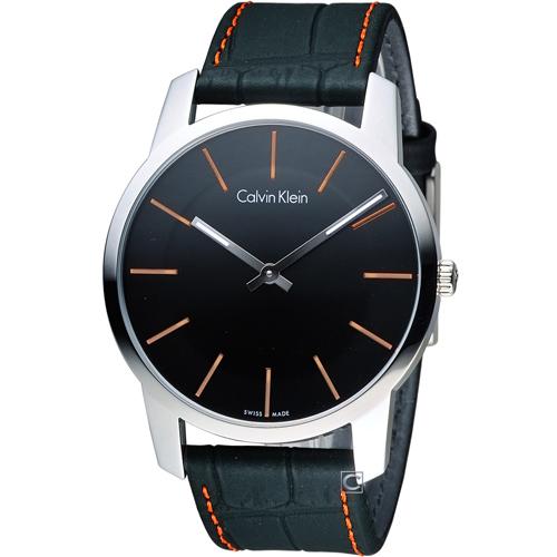 CK Calvin Klein City完美主義簡約石英腕錶 K2G211C1