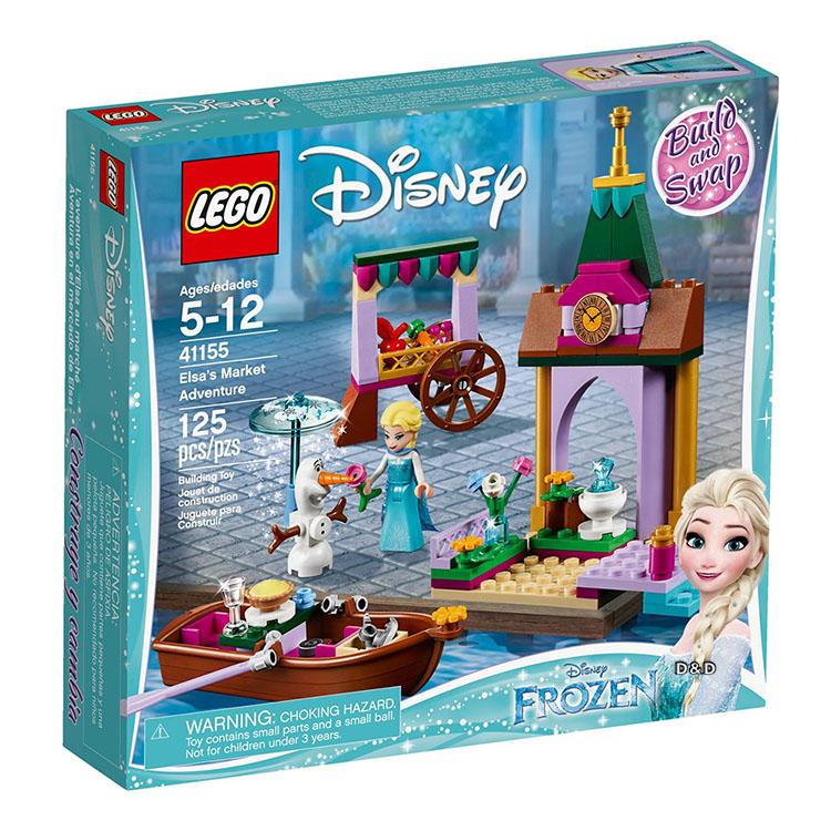 樂高積木 LEGO《 LT41155 》迪士尼公主系列 - Elsa's Market Adventure