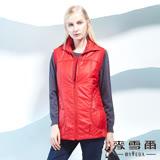 【麥雪爾】縫線雙口袋造型外套