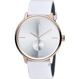 Calvin Klein 日月光系列小秒針時尚腕錶 K2Y216K6