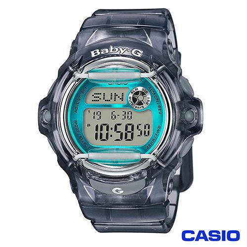 CASIO BABY-G活力多彩潮流休閒運動錶 BG-169R-8B