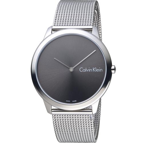 Calvin Klein 優雅米蘭帶石英錶    K3M211Y3