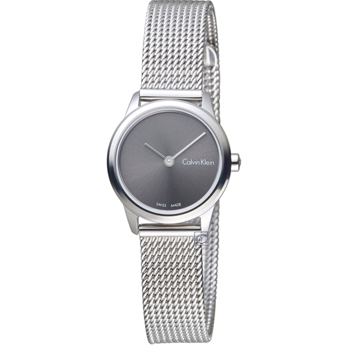 Calvin Klein 優雅米蘭帶石英錶 K3M231Y3