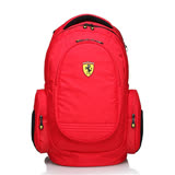 【限時優惠】【Ferrari 法拉利】法拉利時尚防水後背包TF015B-R(紅色)