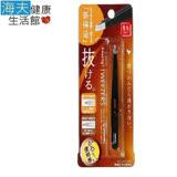 【永昌文具】日本綠鐘Amazing專利設計達人級平口毛拔(黑色,GT-223)