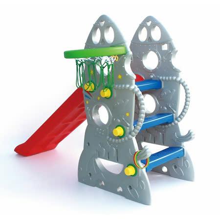 室內兒童火箭造型溜滑梯SL-18台灣製造