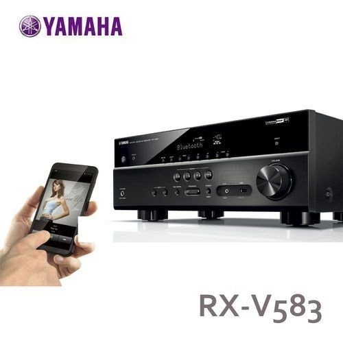 YAMAHA 山葉 RX-V583 7.2 聲道 AV擴大機 內建 Wi-Fi 支援藍芽