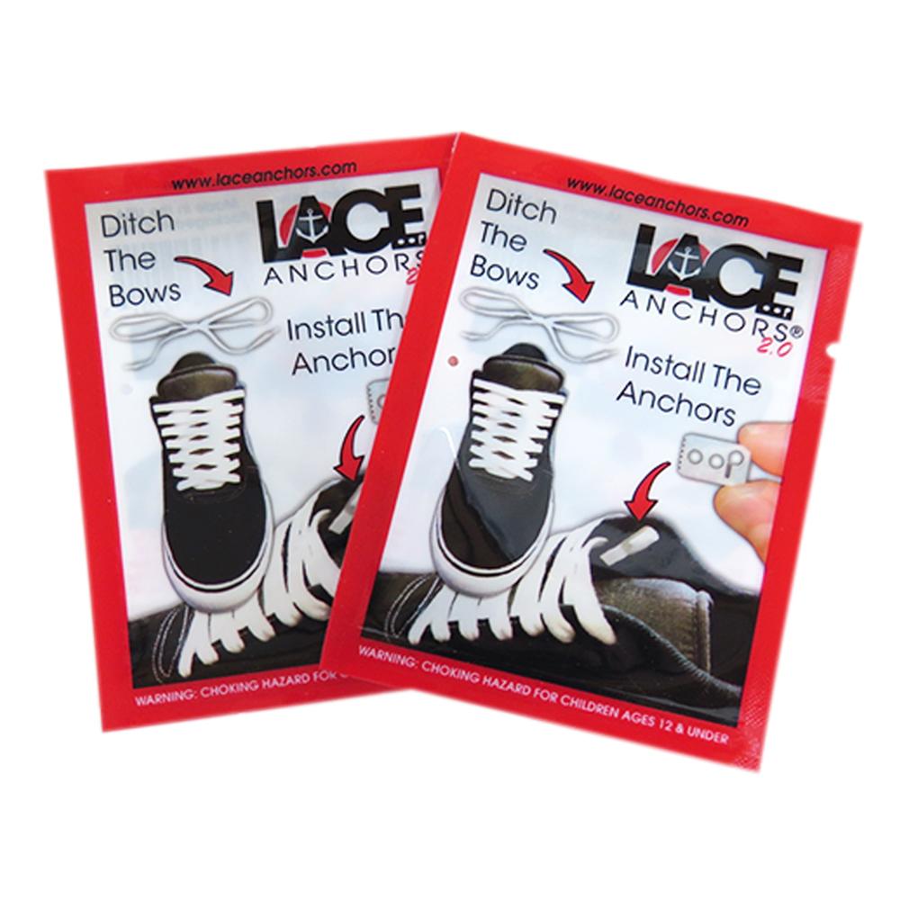 糊塗鞋匠 優質鞋材 G46 Lace Anchors鞋帶扣 4個/1雙用