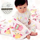 豆豆毯包巾嬰兒被 印花雙層短毛絨毛毯蓋毯冷氣毯