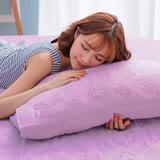 (任)J-bedtime【蝶舞飛揚】雙人絕美壓紋X防汙防塵床包式保潔墊(紫蝶)