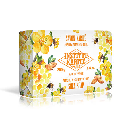 Institut Karite Paris 巴黎乳油木蜂蜜杏仁花園香氛手工皂 200g