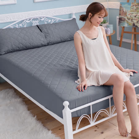 J-bedtime-床包式 單人防汙防塵保潔墊