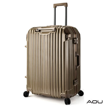 AOU 節奏生活 29吋 蜂巢結構省力手把TSA海關鎖行李箱 鋁框箱 90-031A