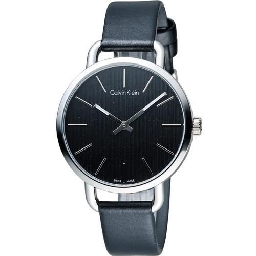 ck Calvin Klein K7B even 系列 頁岩自然風格時尚腕錶 K7B231C1