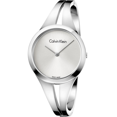 Calvin Klein Ladies Addict 迷戀經典手環錶 K7W2S116 白