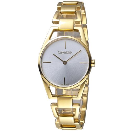 Calvin Klein Dainty  ck 優美系列時尚腕錶 K7L23546 金色