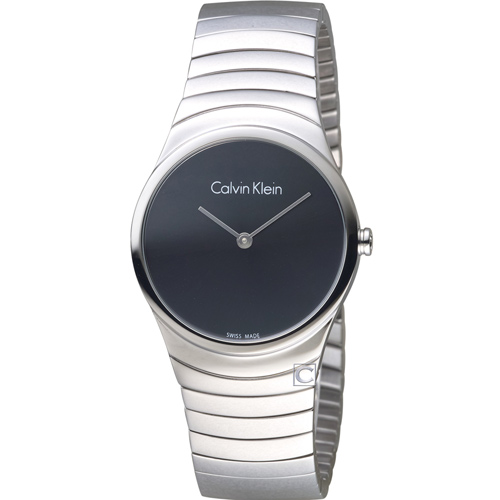 ck Calvin Klein 極簡石英錶  K8A23141 黑
