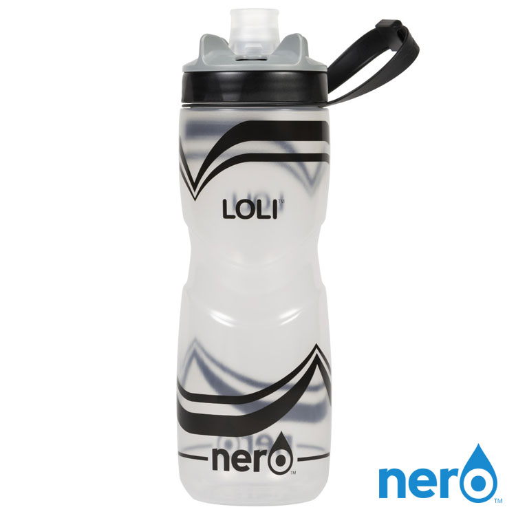 NERO LOLI 自行車水壺 740ml  城市綠洲  100%不含BPA無毒、單手操作、 水壺