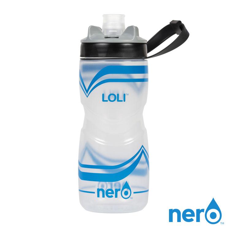 NERO LOLI 自行車水壺 620ml  城市綠洲  100%不含BPA無毒、單手操作、 水壺