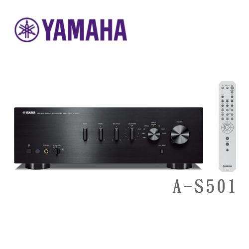 YAMAHA Hi-Fi 音響擴大機 綜合擴大機 A-S501 黑色