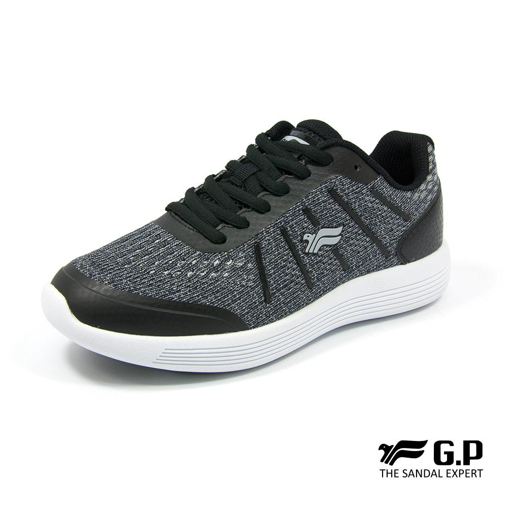 【G.P 女款經典休閒舒適輕量運動鞋】P5772W-10 黑色 (SIZE:36-40 共三色)