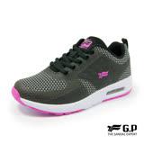 【G.P 女款經典舒適輕量氣墊運動鞋】P5770W-10 黑色 (SIZE:36-40 共三色)
