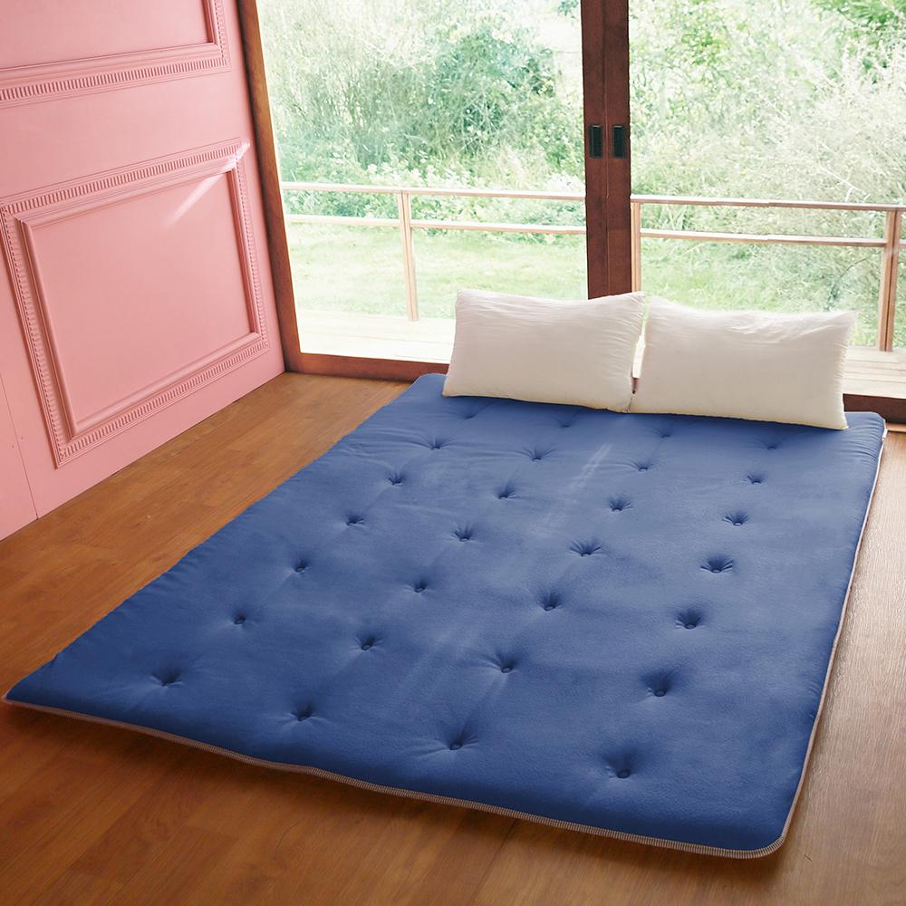 蓄熱保暖 珍珠絨日式床墊(雙人)