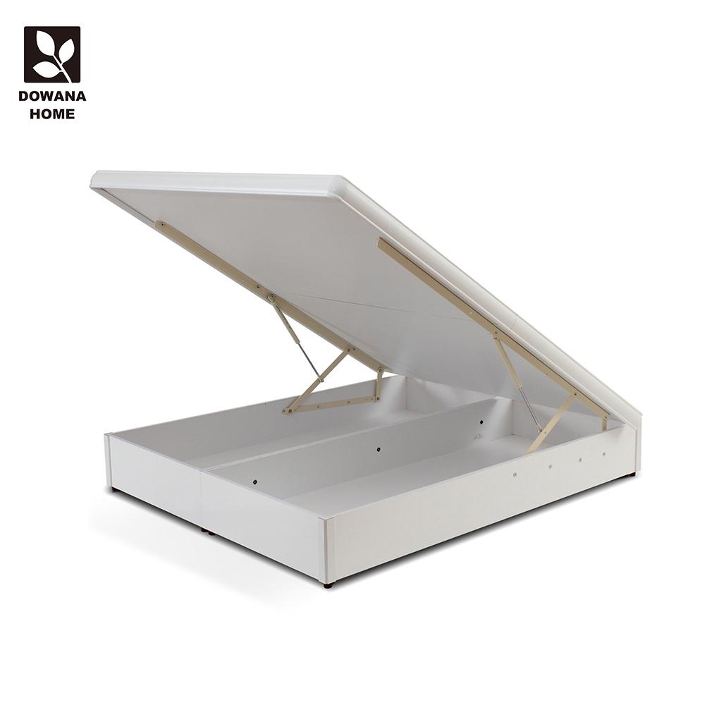 【LOHA】原創簡約5尺標準掀床-白色