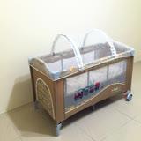 遊戲床 嬰兒床 小床專用蚊帳 高密度耐磨紗帳