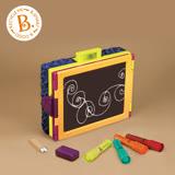 《美國 B.toys 感統玩具》沃客旅行小畫架 2.0