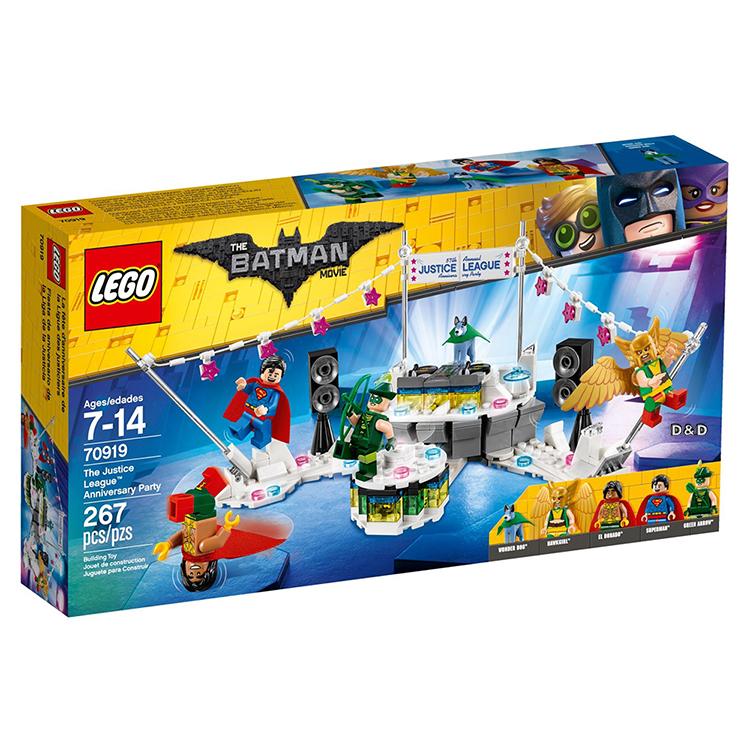 樂高積木 LEGO《 LT70919 》Batman Movie 樂高蝙蝠俠電影系列 - The Justice League™ Anniversary Party
