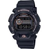CASIO卡西歐 G-SHOCK 80年代復刻電子錶-黑x玫瑰金 DW-9052GBX-1A4DR