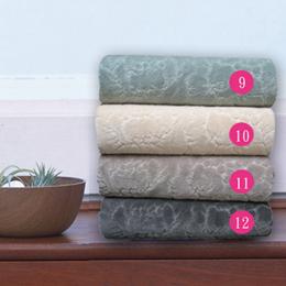 HOYA Style超柔純棉壓紋枕巾 2入 ~暗色系