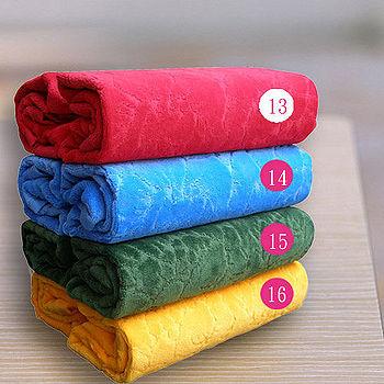 HOYA Style超柔純棉壓紋枕巾 2入 ~亮色系