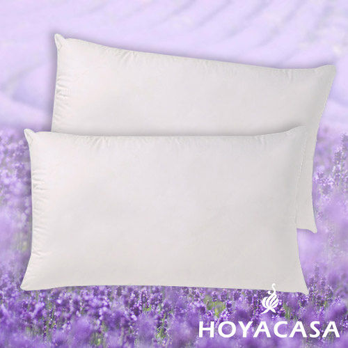 《HOYACASA》薰衣草舒眠壓縮枕(二入)
