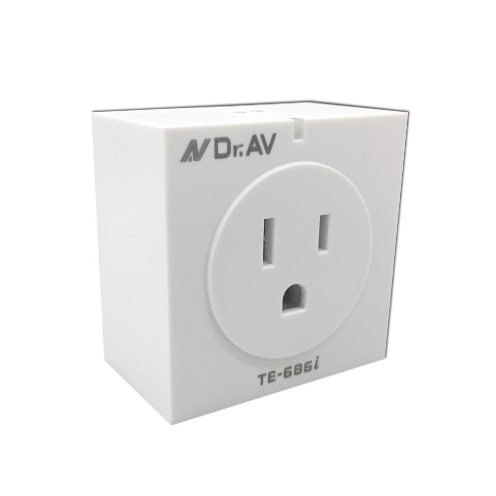【Dr.AV】WIFI無線智能插座定時器(TE-686i)