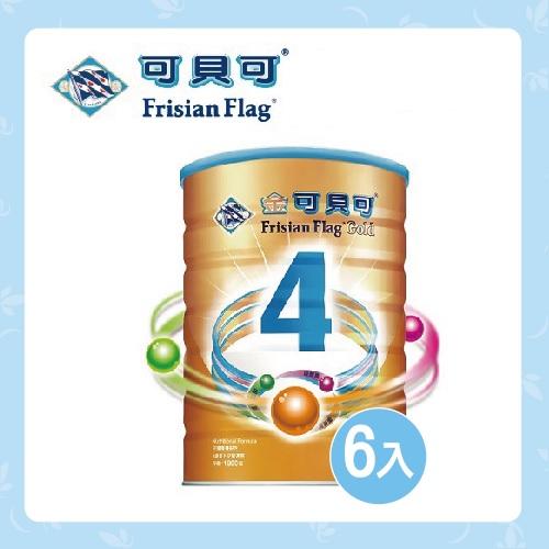 金可貝可 兒童營養奶粉4號1800g*6入