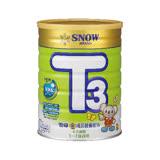 【雪印】金T3成長奶粉900g