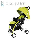 【美國 L.A. Baby】超輕量雙向全罩嬰幼兒手推車-綠