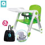 【英國Apramo Flippa】QTI摺疊式兒童餐椅-綠色 ㊣原廠公司貨㊣